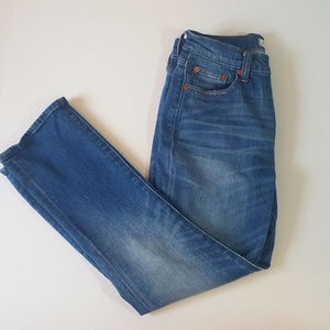 Madewell Kick Out Crop Size 24